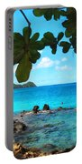 Peaceful Beach St. Thomas Portable Battery Charger