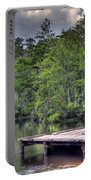 Peaceful Dock Portable Battery Charger by David Troxel
