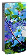 Peaceful Dogwood Spring Portable Battery Charger