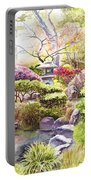 Peaceful Garden Portable Battery Charger