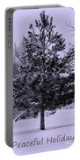 Peaceful Holidays Portable Battery Charger by Carol Groenen