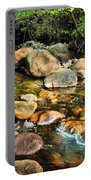 Peaceful Mountain Stream Portable Battery Charger