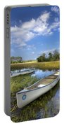Peaceful Prairie Portable Battery Charger by Debra and Dave Vanderlaan