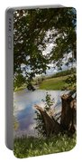 Peaceful View Portable Battery Charger by Robert Bales