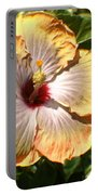 Peach Flower Portable Battery Charger