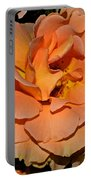 Peach Rose - Digital Paint Portable Battery Charger