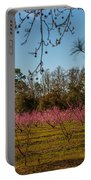 Peach Tree A Bloom Portable Battery Charger