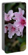 Peach Tree Blooms Miskitos Swoon Portable Battery Charger