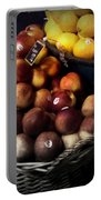 Peaches And Lemons Antique Portable Battery Charger