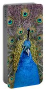 Peacock And Proud Plumage Portable Battery Charger