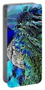 Peacock Bird Of Beauty Portable Battery Charger