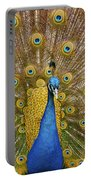 Peacock Courting Portable Battery Charger