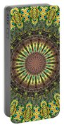 Peacock Feathers Kaleidoscope 7 Portable Battery Charger