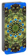 Peacock Feathers Kaleidoscope 9 Portable Battery Charger