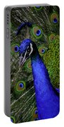 Peacock Head And Tail Portable Battery Charger