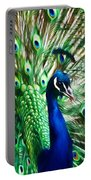 Peacock - Impressions Portable Battery Charger