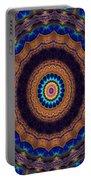 Peacock Pinwheel Portable Battery Charger