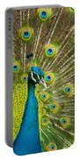 Peacock Pride Portable Battery Charger