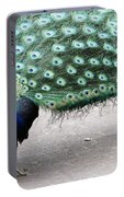Peacock Strut Portable Battery Charger
