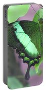 Peacock Swallowtail Portable Battery Charger