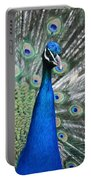 Peacock Up Close Portable Battery Charger