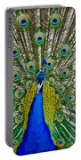 Peafowl Peacock Portable Battery Charger