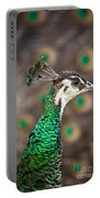 Peahen And Peacock Portable Battery Charger