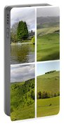 Peak District Collage 01-plain Portable Battery Charger