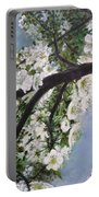 Pear Blossom  Portable Battery Charger