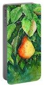 Pear Portable Battery Charger by Zaira Dzhaubaeva