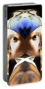 Pearl Earring Pearl Portable Battery Charger