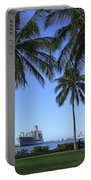 Pearl Harbor Hawaii Portable Battery Charger