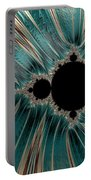 Pearly Mandelbrot Portable Battery Charger