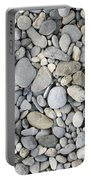 Pebble Background Portable Battery Charger