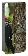 Pecking Woodpecker Portable Battery Charger
