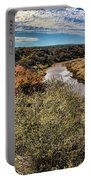 Pedernales River In Autumn Portable Battery Charger