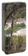 Pedernales River Pool In August Portable Battery Charger