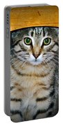 Peekaboo Kitty Portable Battery Charger