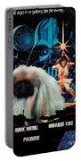 Pekingese Art - Star Wars Movie Poster Portable Battery Charger