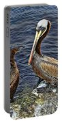Pelican And American Black Duck Portable Battery Charger