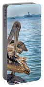 Pelican At Avila Beach Portable Battery Charger