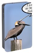 Pelican Love You Card Portable Battery Charger