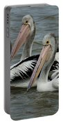 Pelicans In Australia 3 Portable Battery Charger