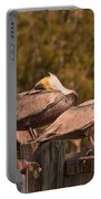 Pelicans On Watch Portable Battery Charger