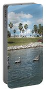 Pelicans Parade Portable Battery Charger