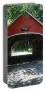 Pemigewasset River Bridge Portable Battery Charger
