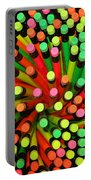 Pencil Blossom Portable Battery Charger