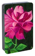 Pencil Rose Portable Battery Charger