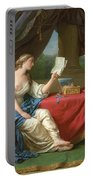 Penelope Reading A Letter From Odysseus Portable Battery Charger