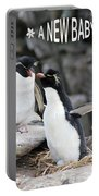 Penguin New Baby Card Portable Battery Charger